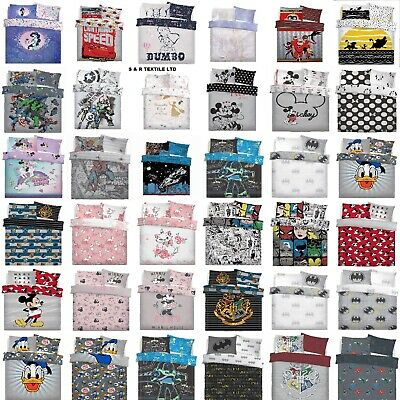 Character Duvet Cover Set With Pillowcase Quilt Cover kids Bedding Set