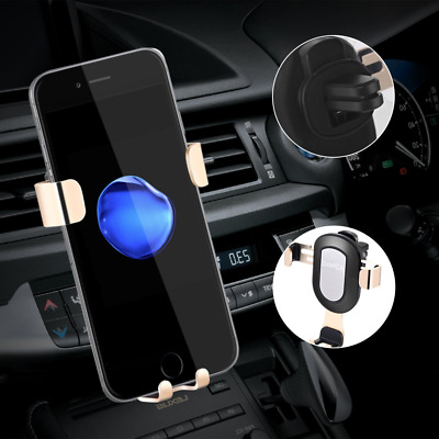 Car Phone Holder Universal Air Vent Mount Stand Stable Bracket for Smartphones
