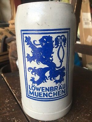 1 Liter Lowenbrau Humpen