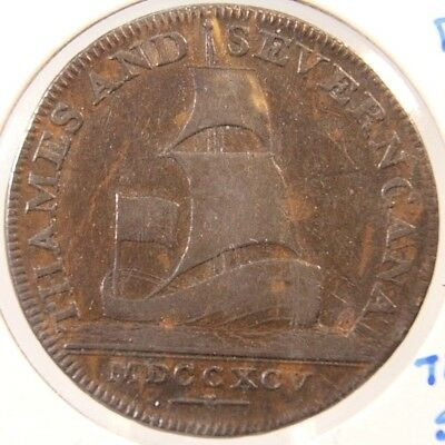 Conder Token - 1795 Gloucestershire 1/2 Penny - Brimcombe -D & H 60  - Lot # 202