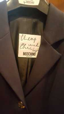 Moschino Cheap and Chic - Tailleur giacca e gonna nero Tg.42
