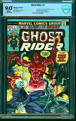 Ghost Rider #2 CBCS VF/NM 9.0 White Pages Marvel Comics