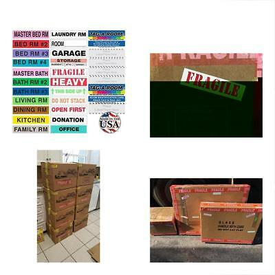 Colorcoding Labels TagARoom Coded Home Moving Box With Door IDs 1150 Count