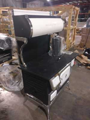 Damaged Wood cook stove with oven - Beautiful Great buy !!