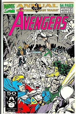 Marvel Avengers lot of 14 VF Bronze Age (1989-1991) various issues 305-340