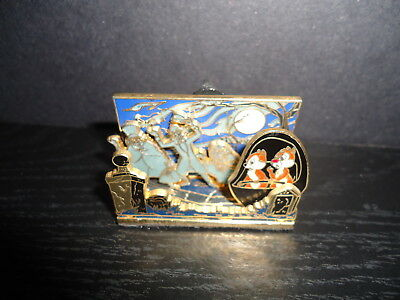 Disney The Haunted Mansion Chip And Dale Diorama Pin