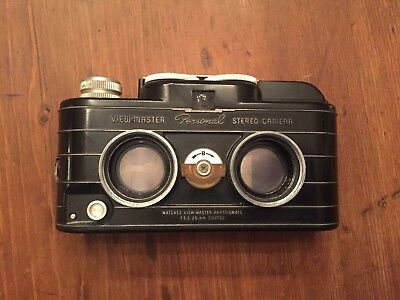 Sawyers View-Master Personal Stereo Camera With Box Flash Attachment