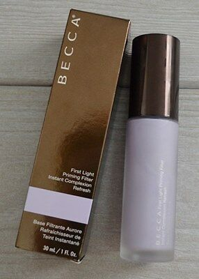 Becca First Light Priming Filter Makeup Foundation Primer Full Size 1 Oz Boxed