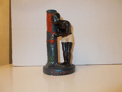 1930's FIRESTONE Tire Rubber Co. Black Man Tree Advertisement Figurine Figure