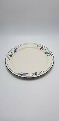 "Lenox ""Poppies On Blue"" 10 3/4 Inch Dinner Plate"