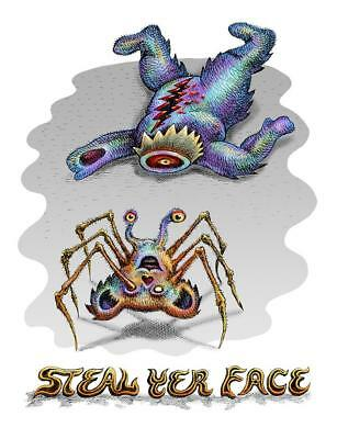 Emek Steal Yer Face Limited Edition Mini Print S/N Embossed and Doodled xx/500