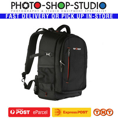 K&F Concept KF13.025 Multifunctional V4 DSLR Camera Backpack (Large , Black)