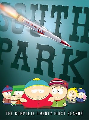 South Park Season 21 Brand New Sealed The Complete Twenty-First Season Dvd
