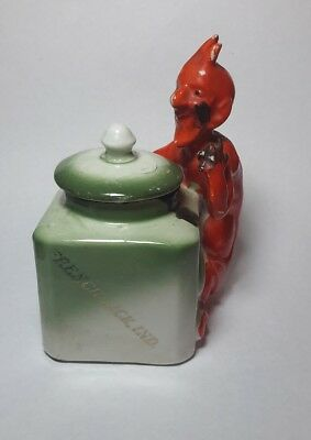 Pluto Water French Lick Springs Indiana. Smiley Devil Satan Inkwell Germany Made