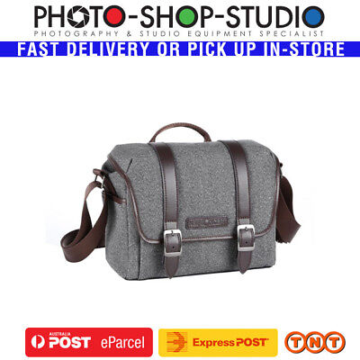 K&F Concept  KF13.078 DSLR Camera Messenger Shoulder Bag (Small , Grey)