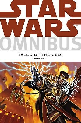 Star Wars Omnibus Tales of the Jedi Volumes 1 First Edition