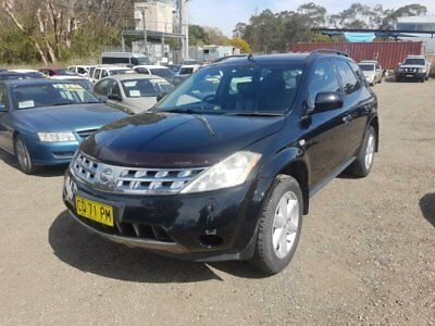 2006 Nissan Murano Z50 TI Black Automatic 6sp A Wagon