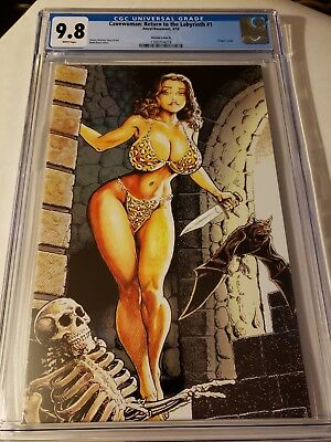 Cavewoman Return to the Labrinth # 1  ! * CGC 9.8 ! * Lmt 450 Copies !  Root !