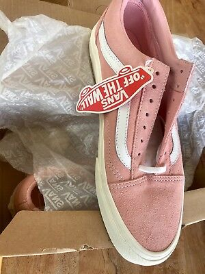 Brand New Old Skool Baby Pink Vans Lace Up
