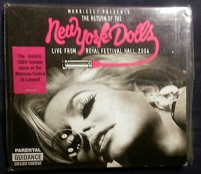 "sealed ""THE RETURN OF THE NEW YORK DOLLS"" Morrissey Presents, CD 1st press 2004"