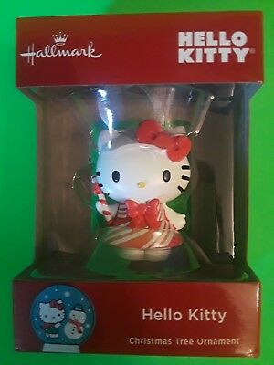 Hallmark Hello Kitty Christmas Ornaments~Brand New~Bid $6~Free S&h~Save Some $!