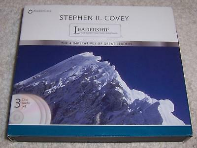 Leadership The 4 Imperatives Of Great Leaders Stephen R Covey Audio
