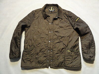 BARBOUR - D2395 LIDDESDALE TRACK QUILT XXL  - military green - men's jacket