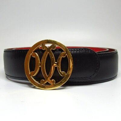 Authentic HERMES H Belt Leather[Used]