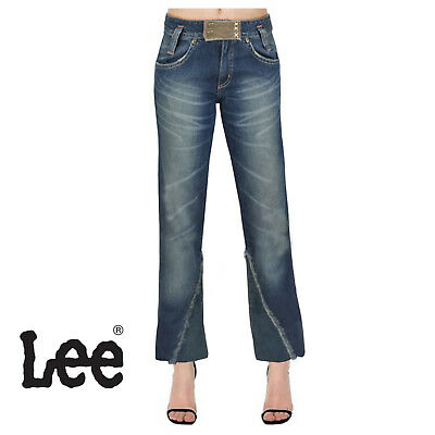 d9f22d657a JEANS LEE DONNA PANTALONI GIRL A ZAMPA WOMAN TG 40 w27 flare regular ...
