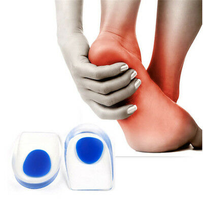 Silicone Augmenter Talons Support Pads Coupe Shock Coussin Semelle Plantar Care
