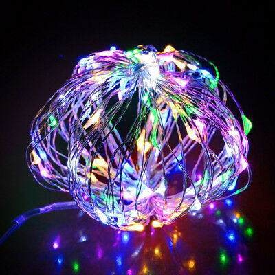 1/5/10M USB LED Copper Wire Waterproof String Fairy Light Strip Christmas Party