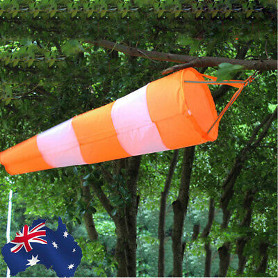 AU! 80/100/150cm Airport Aviation Windsock Rip-stop Outdoor Wind Measurement Bag