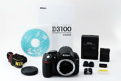 Nikon D D3100 14.2 MP Digital SLR Camera Body【Excellent】From Japan