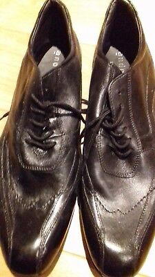 Neuf 44 20 Homme Chaussures Noir André 00 Eur Cuir Pointure UqW1RSw