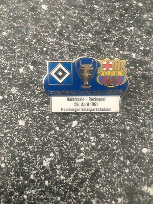 Pin Hamburger SV-FC Barcelona 1960-1961