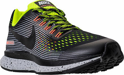 13e0fd12aa13 Boys  1.5 GS Nike Zoom Pegasus 34 Shield Running Black Volt Wolf Grey