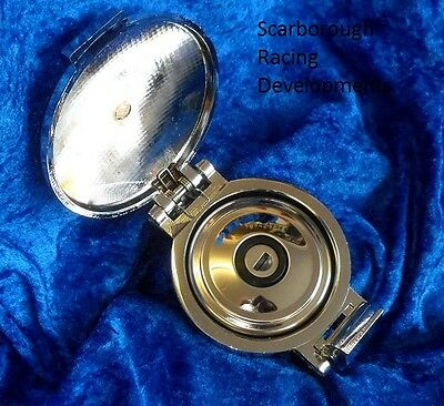 Highly Polished FlipTop Aston Style Race Fuel Cap With locking Cap Classic Mini