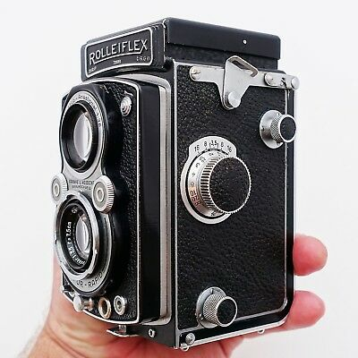 Rolleiflex TLR camera 3.5 Automat 1938 Zeiss lens - great condition, works well