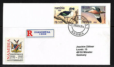 Namibia Cover - R - Ohangwena 1 - 25.04.2000 Enten Ducks Costal Angling Fische