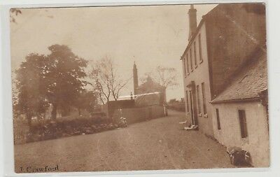 Lanarkshire Crawford Village Street Scene U/P c1905/10s Paget Self Toning RPPC