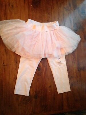 Baby Gap 12 month tutu leggings in pink New without tags