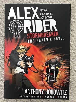 Stormbreaker Graphic Novel by Anthony Johnston, Anthony Horowitz