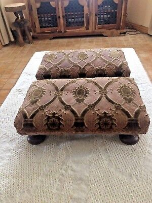 Pair of Antique French Footstools