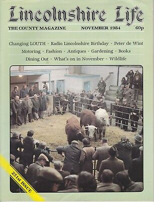 LINCOLNSHIRE LIFE Nov 1984 - features Louth