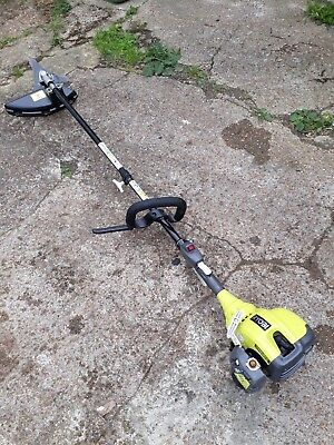 Yellow Power Ryobi Curved Shaft Petrol Strimmer / Expand It - Kombi