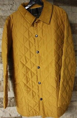 Men's Genuine Barbour Quilted Classic Eskdale Jacket Size Large