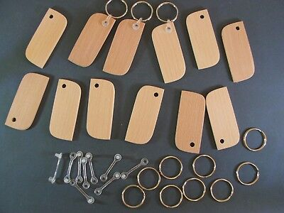 BEECH-KEYRING BLANKS-not plywood-PYROGRAPH-ENGRAVE/Stain-£12.25 FOR 24-POST FREE