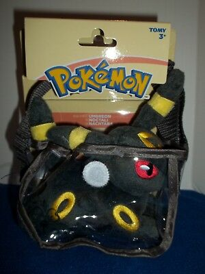 Pokemon Shoulder Plush in Bag Umbreon Tomy Authentic Toy Accessory