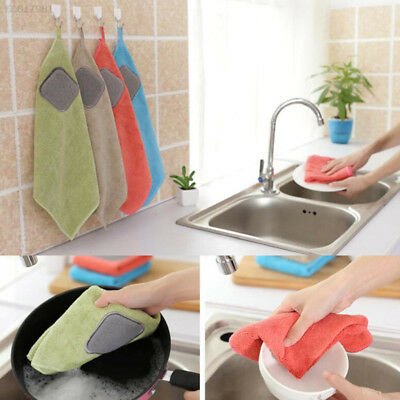 64A9 Cloth Kitchen Accessories Dishtowel Thickening Superabsorbent Towels