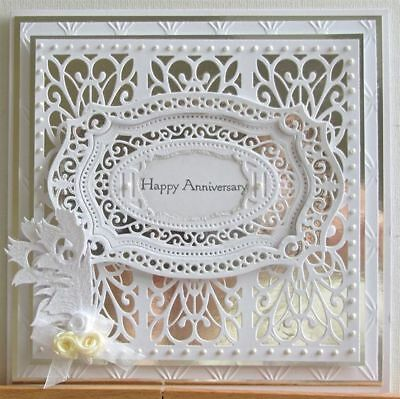 CRAFT Lace Frame Metal Cutting Dies DIY album Decorative Embossing Paper Cards
